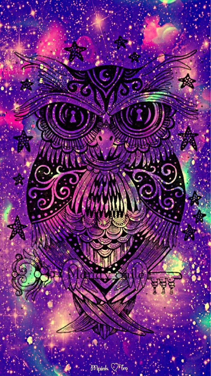 Send To Danielle Buescher Pretty Wallpapers Owl Wallpaper Galaxy Wallpaper