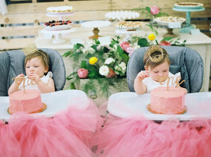 Southern Sweetie Pies- Twins One Year Birthday Party