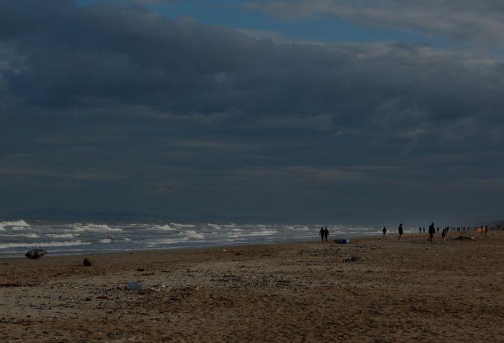 #spiaggia di #rimini #myrimini #inverno #italy