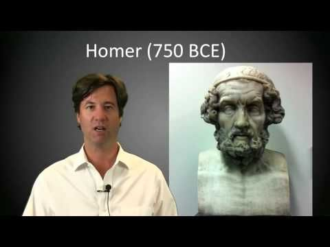 The Trojan War Aftermath and The Homeric Question - Lecture by Peter Struck.  Subjects: Ancient Literature, Homer. Length: 14:24