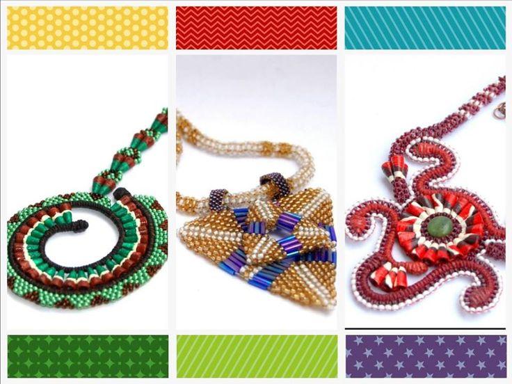 Coliere de vis by #Gadamart #handmade #necklaces #art