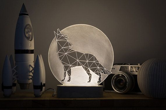 Hey, I found this really awesome Etsy listing at https://www.etsy.com/listing/254331366/bedside-wolf-lamp-led-howling-wolf