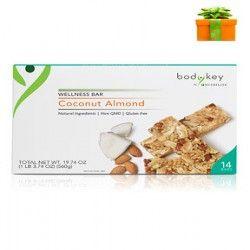 Coconut Almond Meal Replacement Bars Non GMO Gluten Free