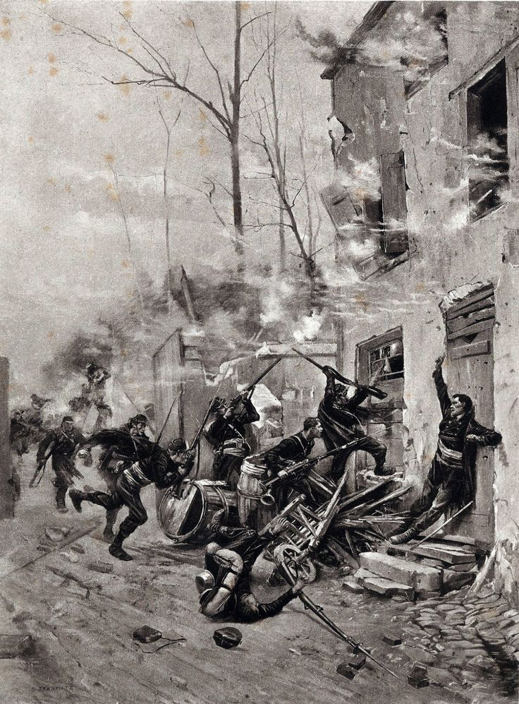 a history of the battle of sedan in the franco prussian war The battle of sedan on september 1, during the franco-prussian war, brought  an end to the second empire and the reign of napoleon iii and.