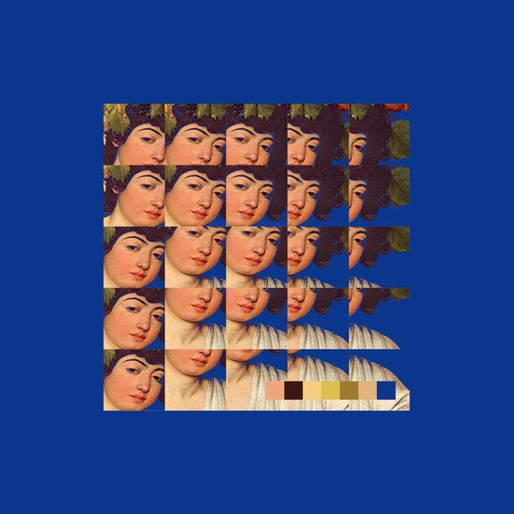 Bacchus | autofocus what if the album art is my face split like this between east and west