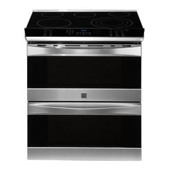Kenmore Elite Electric Slide-In Double Oven Convection Range