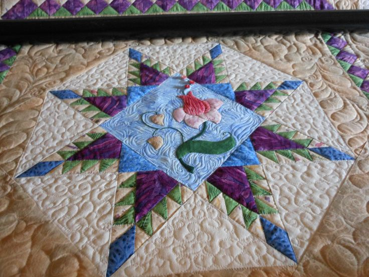17 Best Images About Feathered Star Quilts On Pinterest