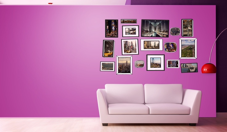 New York picture wall