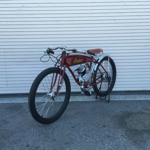 REPLICA-INDIAN-Board-Track-Racer-26-034-TRUSS-Horquilla-para-Bicicleta-motorizada-Vintage-Raw