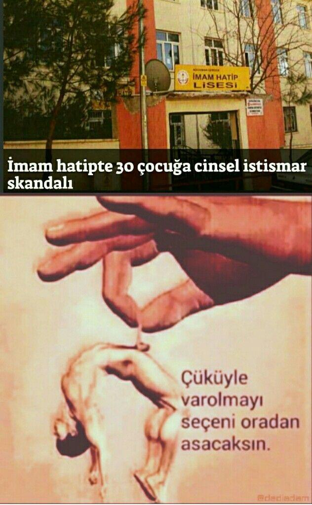 AKP DÖNEMİ TÜRKİYE,ve imamhatiplerde tecavüzde patlama..