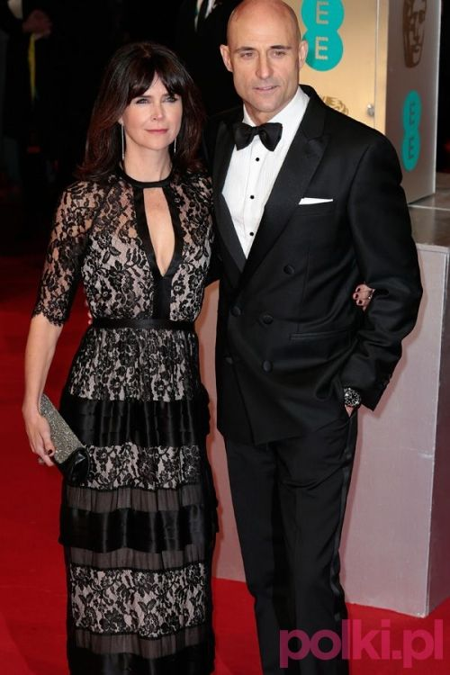 BAFTA 2015: Mark Strong i Liza Marshall #polkipl
