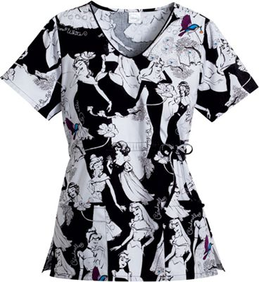disney princess collection scrubs