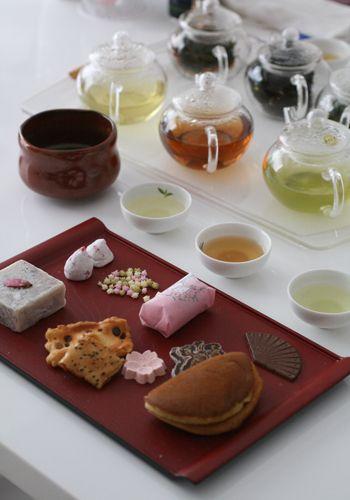 『和菓子と日本茶の相性レッスン』