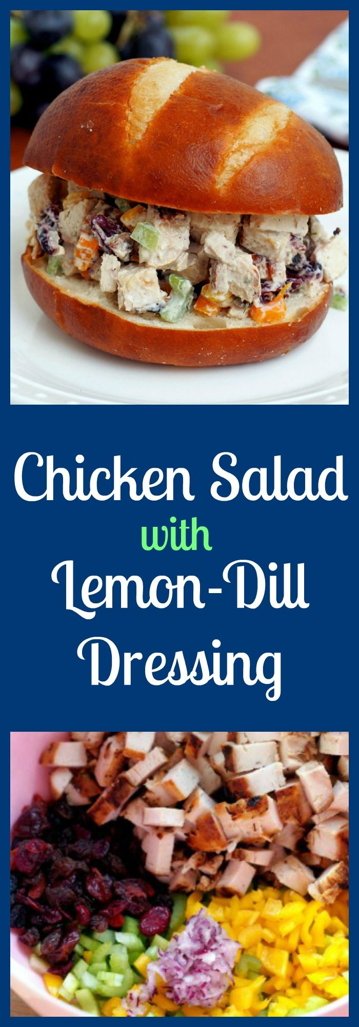 ... lemon juice, garlic, and dill to enrobe the juicy chicken, crunchy