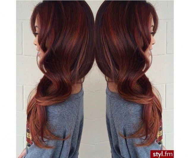 Modne kolory włosów jesień 2016: kasztan i cynamonowy brąz - Strona 5