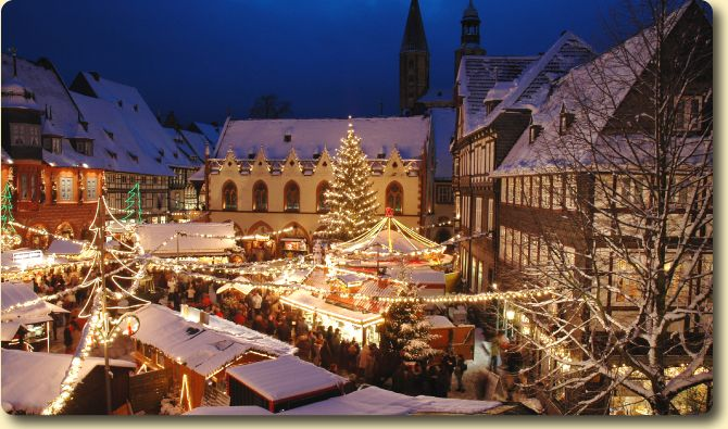 Freiburg Christmas Market - home of St Nicholas for Cox family Thanksgiving w/Smalleys