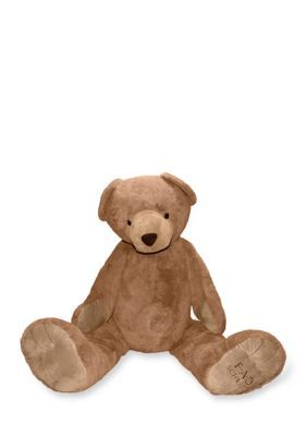 Fao Schwarz Classic Signature Giant Plush Bear - Light Brown - One Size
