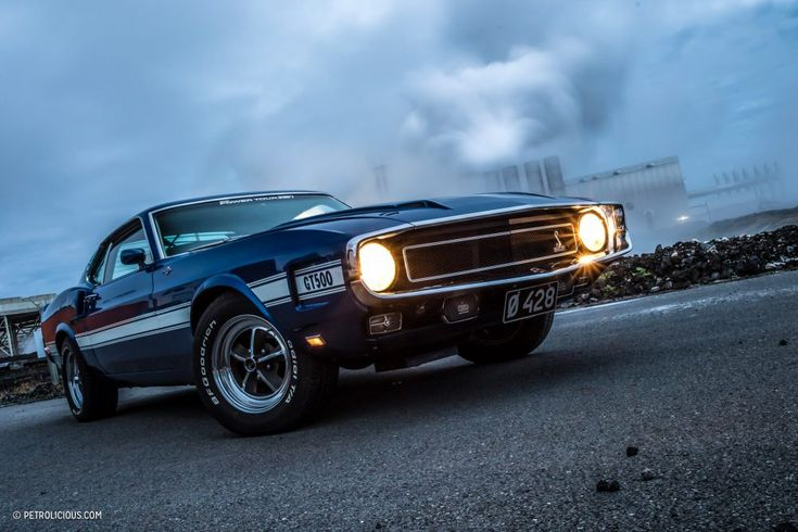 This Shelby GT500KR Is Tearing Through Tires In Iceland • Petrolicious