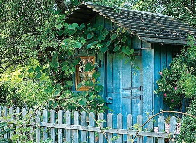 www.rustica.fr - Les aménagements de confort au jardin - Faire sa cabane de jardin