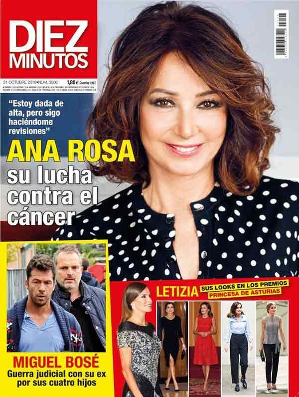 El Kiosko Rosa 24 De Octubre De 2018 Magazinespain Com Revistas Revista Diez Minutos Minuto