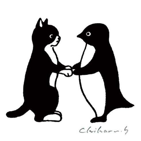 ペンギン 百態 坂崎千春展 Suica