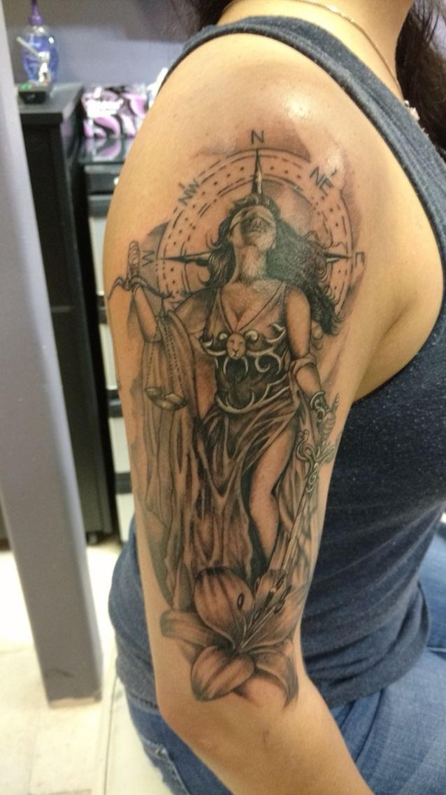 Tattoo Lady Justice: 12 Best Tattoos Images On Pinterest