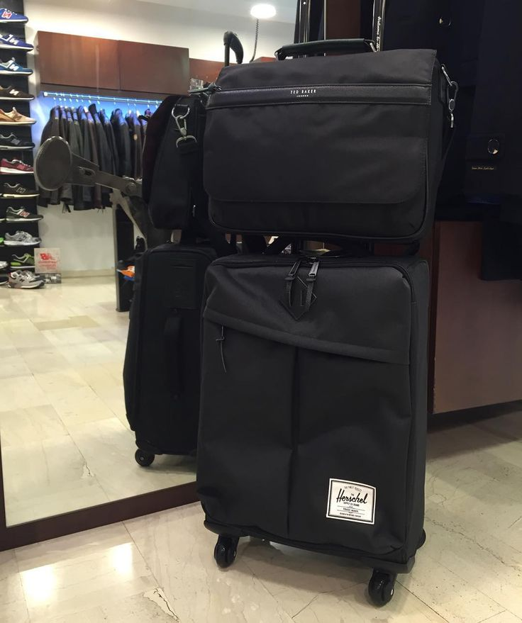 #just #another #day #for a #buisnessman #johnandy #tedbaker #herschel #call_for_orders  #00302109703888  https://www.john-andy.com/en/menclothing/bags/travel-luggage-bags.html
