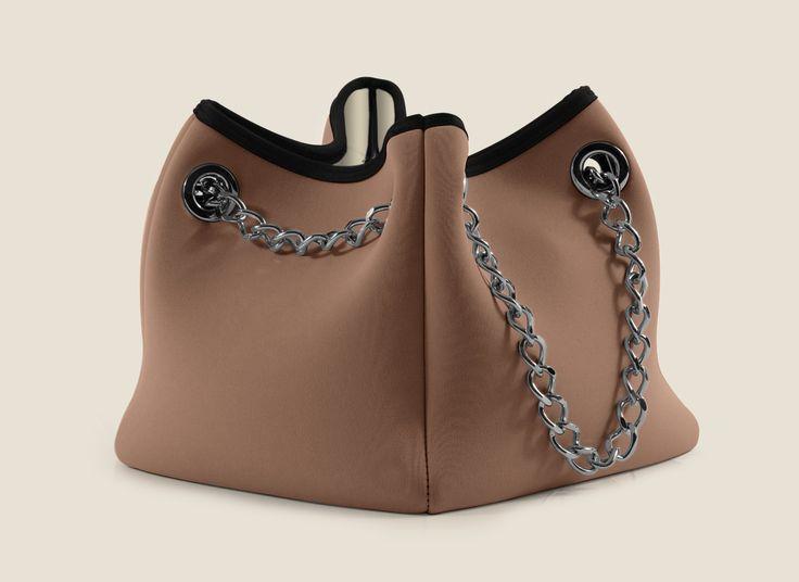 Modell : CUBE BAG tortora/sabbia