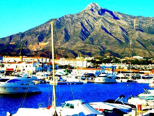 Puerto Banus Marbella. I miss you more than words can say! WAAAAA