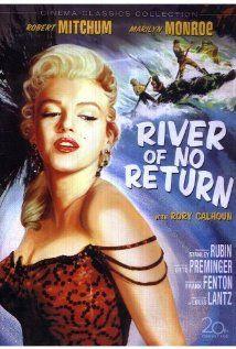 River of No ReturnFilm, Marilyn Monroe Movie Posters, Returns 1954, Marilyn 1954, Rivers T-Shirt, Marilynmonroe, Robert Mitchum, Favorite Movie, Vintage Movie
