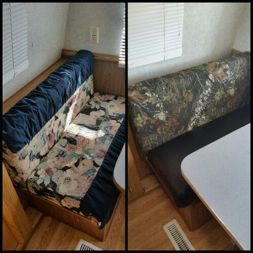 Camper Cushions Remodel Seat Cushion Made With Vinyl Fabric For