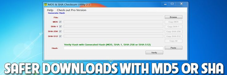 How To: Verify File Downloads Using MD5 or SHA