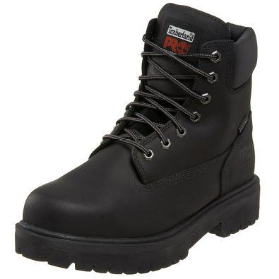 """Looking for something stylish for you loved one in this Valentine's Day? The Timberland PRO Men's Direct Attach 6"""" Steel Toe Boot might jut be the right fit!"""