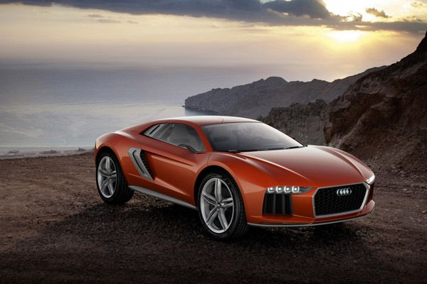 The Audi Nanuk Quattro Concept is Audi's latest supercar that combines a mid-engine sports car with an SUV, and features a 5.0-liter V10