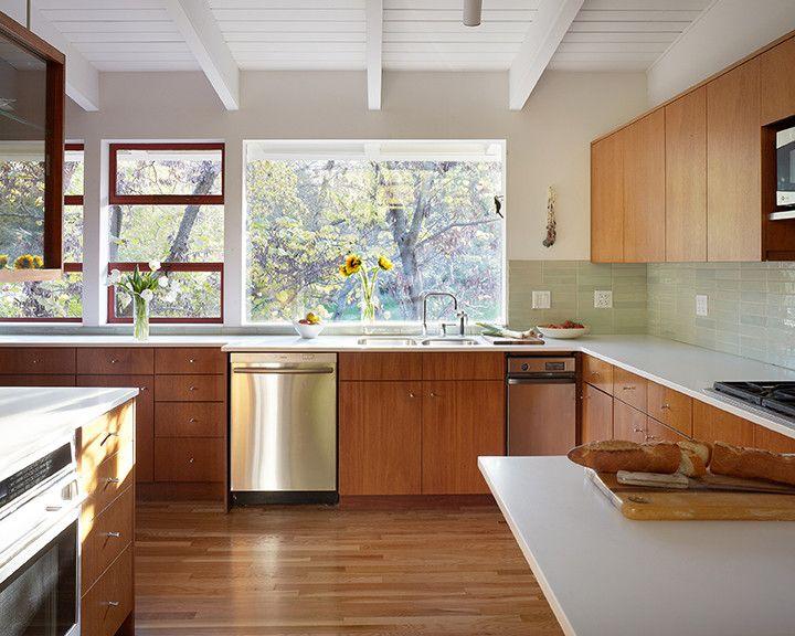 MCM Kitchen. in 2020 | Mid century modern kitchen, Mid ...
