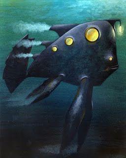 Giacomo Garelli Illustratore: 20000 Leghe Sotto i Mari