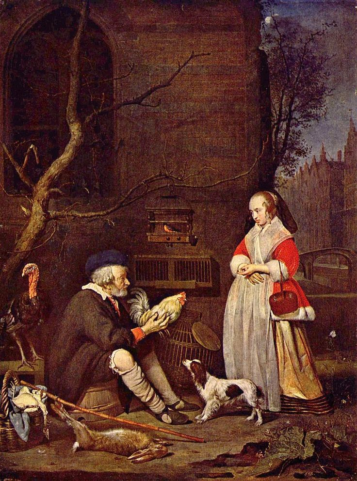 The Poultry-Seller, 1662