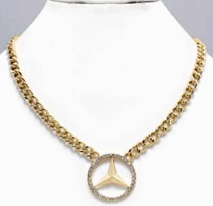 mercedes benz necklace mercedes benz accessories pinterest