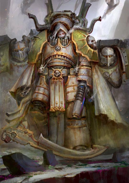 The art of Warhammer 40000