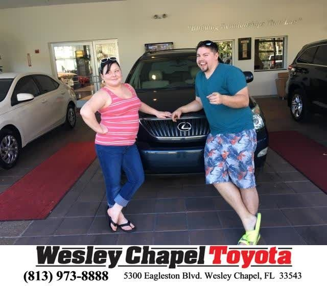 Congratulations Curtis on your #Lexus #RX 330 from Christopher Joseph at Wesley Chapel Toyota!  https://deliverymaxx.com/DealerReviews.aspx?DealerCode=NHPF  #WesleyChapelToyota