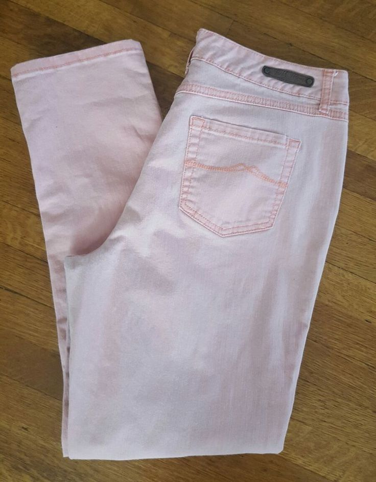 """Cute pair of Ruff Hewn Ladies Vintage Colored Pink Pants! Size 14. Cotton blend. Waist measures 34"""", rise measures 11"""", inseam measures 31"""". Excellent used condition- worn once! Happy bidding!!!   eBay!"""