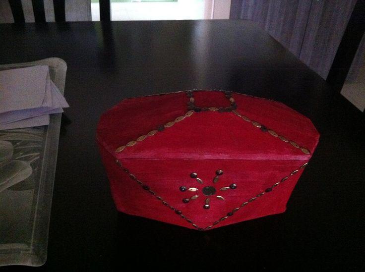 Jewel box - Chocolate container reuse #ThinkCreateCraft: