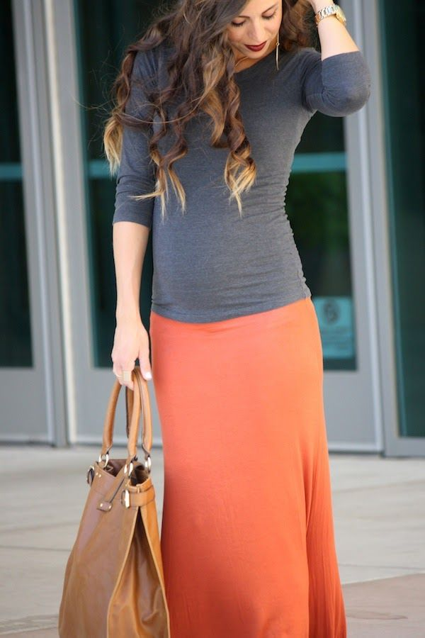Just now realized this is maternity... Whoops! But cute colors anyway