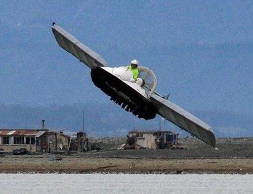 TECH GATE: FLYING HOVERCRAFT???FUTURE TRANSPORTATION???