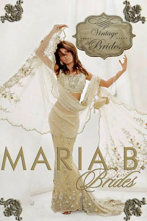 Pakistani Bridal Wear - Maria B