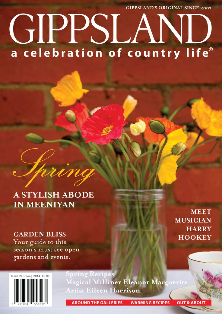 The latest Spring 2014 Gippsland Country Life magazine