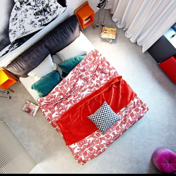 Red Bedspread