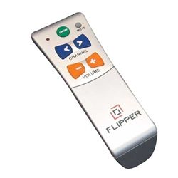 People love this.  The FLIPPER Remote control is extremely easy.  Just program it and give to your elderly parent(s), grandparents and they will be able to watch tv without having to call family members because they don't understand their complicated tv remotes.  Makes life easier for everyone!