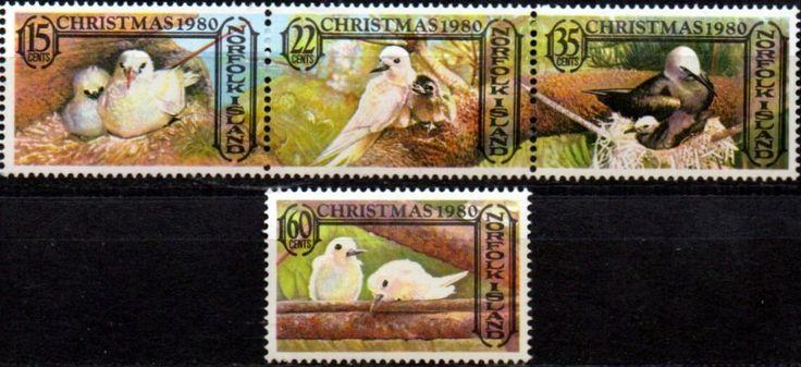 Norfolk Island 1981 Christmas Set Fine Mint SG 265/8 Scott 283/6 Other Norfolk Island Stamps HERE