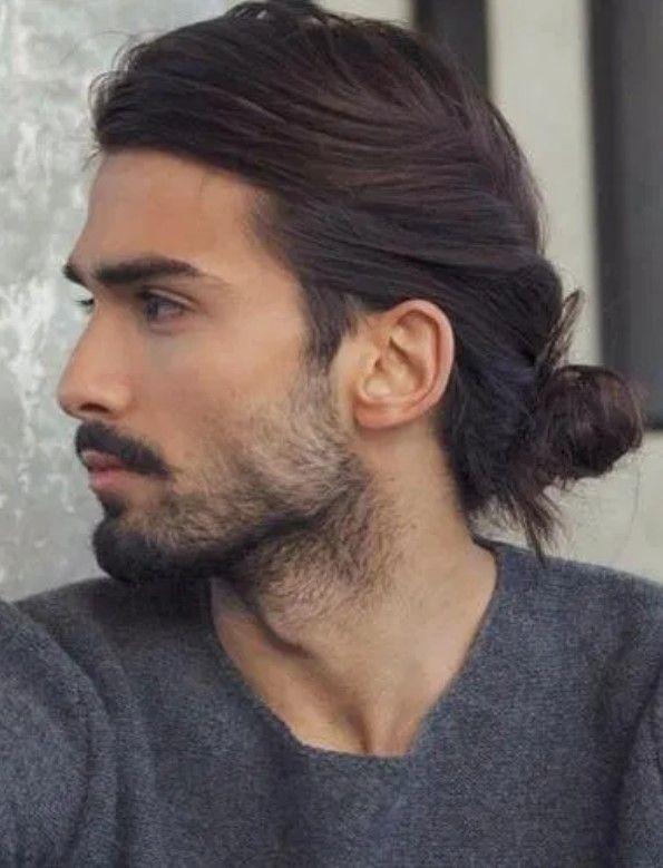 Uzun Saca Ne Tur Sakal Gider Tesettur Giyim Mens Hairstyles Medium Mens Hairstyles Long Hair Styles